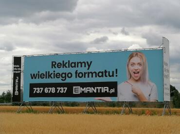reklama wielkiego formatu